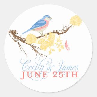 Cecily & James klistermärke