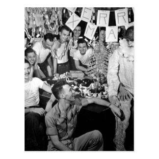 celebrate_War personaler av USS LEXINGTON avbildar Vykort