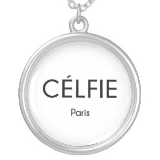 CELFIE Paris Silverpläterat Halsband