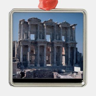 Celsus bibliotek som byggas i ANNONS 135 Julgransprydnad Metall