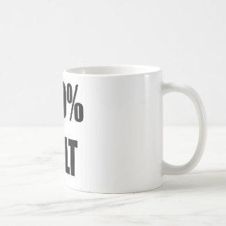 Celt 100% vit mugg