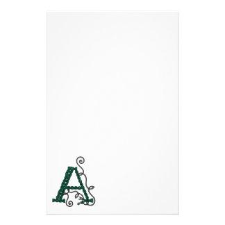 Celtic brevpapper för brev A
