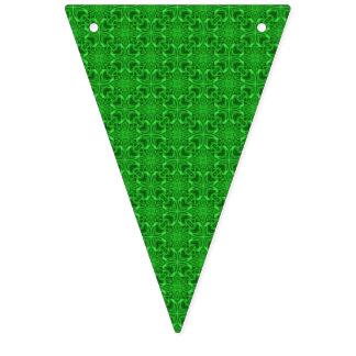 Celtic flaggor för klöverKaleidoscopeBunting