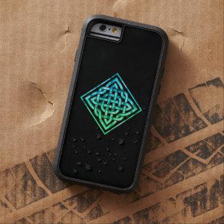 Celtic fnurra - diamantblåttgrönt tough xtreme iPhone 6 case