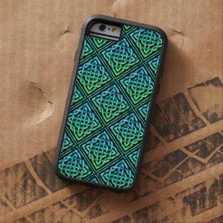 Celtic fnurra - diamantblåttgrönt tough xtreme iPhone 6 fodral
