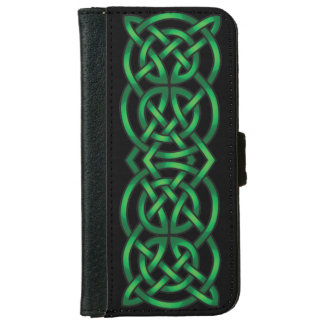 Celtic fnurra plånboksfodral för iPhone 6/6s