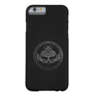 Celtic fnurraThistle för krom Barely There iPhone 6 Fodral