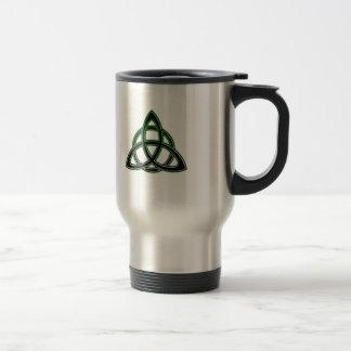 Celtic fnurratravel mug rostfritt stål resemugg