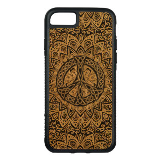 Celtic fredsteckenMandala Carved iPhone 7 Skal
