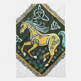 Celtic häst kökshandduk