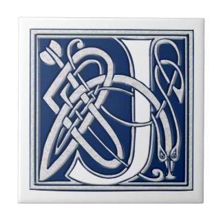 Celtic j-Monogram Kakelplatta