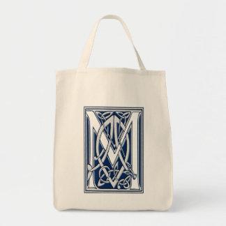 Celtic M-Monogram Mat Tygkasse