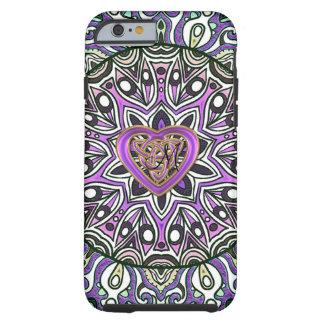 Celtic Mandala för hjärtafnurraTapestry Tough iPhone 6 Case