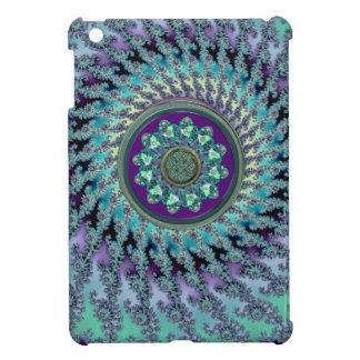 Celtic Mandala på en Fractalbakgrund iPad Mini Skal