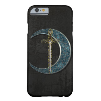 Celtic måne och svärd barely there iPhone 6 fodral