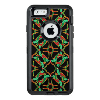 Celtic mönster för juljärnekkran OtterBox defender iPhone skal