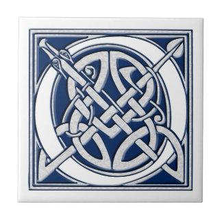 Celtic nolla-Monogram Kakelplatta