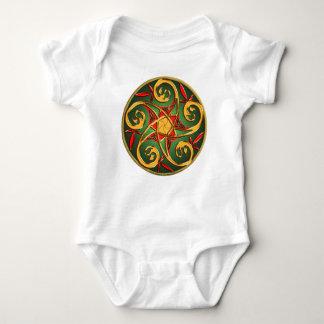 Celtic Pentaclespiralspädbarn T Shirt
