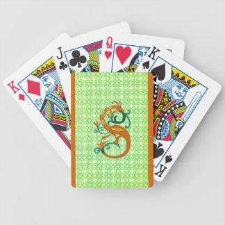 Celtic Seahorse som leker kort Spelkort