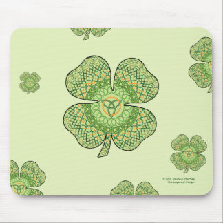 Celtic Shamrock Mousepad Musmatta