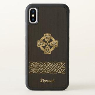 Celtickor och kedjar fodral för personligiPhone X