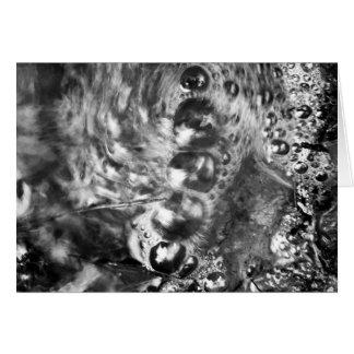 Centipeden bubblar konstkortet hälsningskort