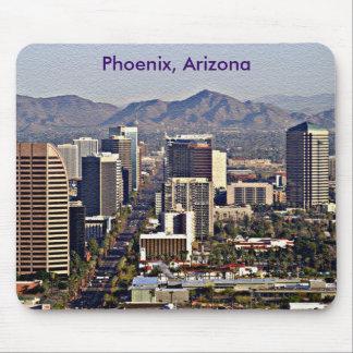 Centra beskådar av Phoenix, Arizona Musmatta