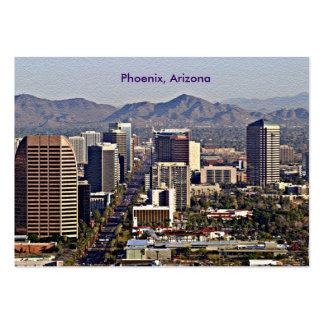 Centra beskådar av Phoenix, Arizona Visitkort
