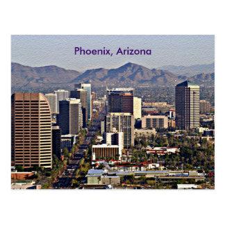 Centra beskådar av Phoenix, Arizona Vykort