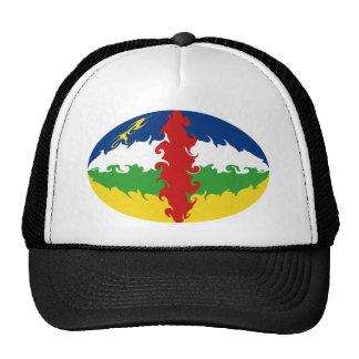 Centrafrique Gnarly flaggahatt Keps