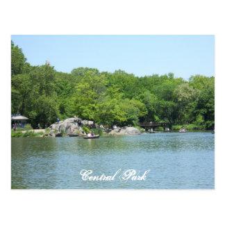 Central Park souvenir New York City för sjövykort Vykort