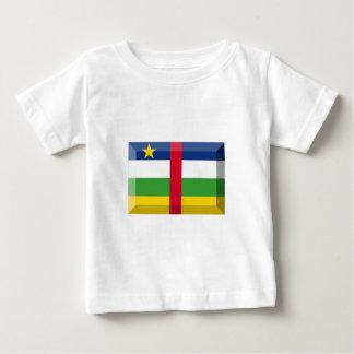 Centralafrikanska republiken flaggajuvel t-shirt