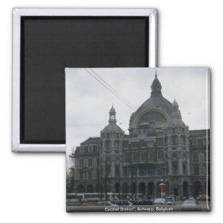 """Centralstation"""", Antwerp, Belgien Magnet"""