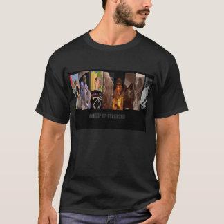 Centrera av uppmärksamhet t-shirt