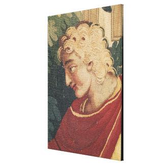 Cephalus och Procris, specificerar av huvudet av Canvastryck