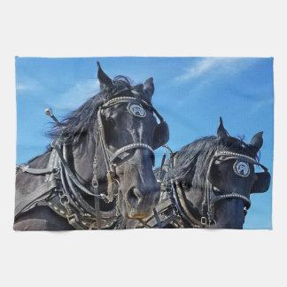 Ceremoniös western hästkökshandduk kökshandduk