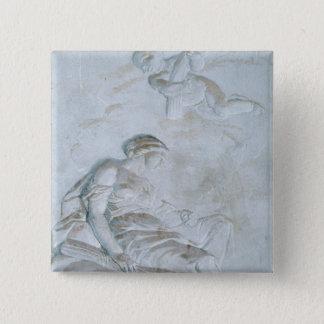 Ceres c.1790 (frescoen) standard kanpp fyrkantig 5.1 cm
