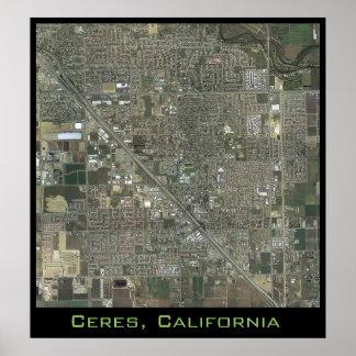 Ceres tätt upp poster
