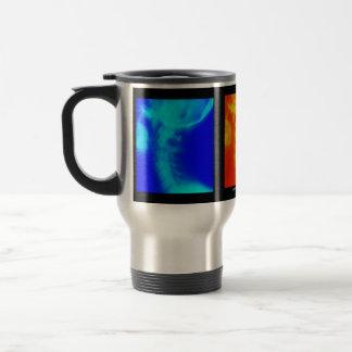 Cervical röntga Chiropractic reser kaffekoppen Rostfritt Stål Resemugg