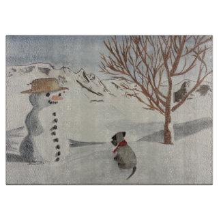 cesky terrier för vinter
