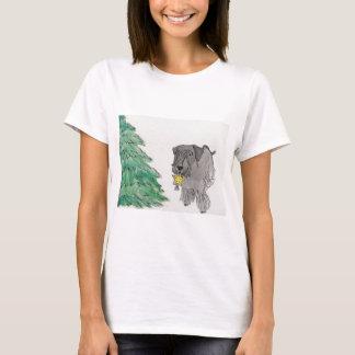 Cesky Terrier med trädstjärnan Tee Shirts