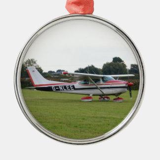 Cessna 182Q Julgransprydnad Metall