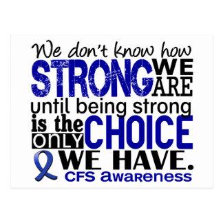CFS hur starkt vi är Vykort