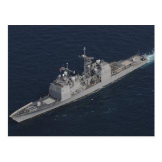 CG 67 USS Shiloh Vykort