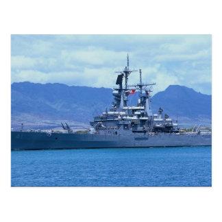 """CGN 41"""" USS Arkansas"""" som är kärn- - driven Vykort"""