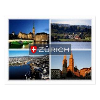 CH Schweitz - Zurich - Vykort