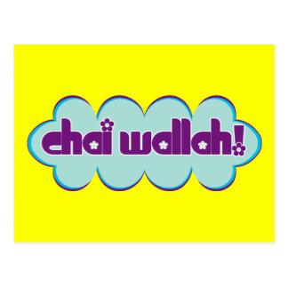 Chai Wallah Vykort