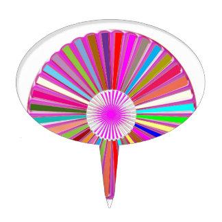 CHAKRA rullar den färgrika läka Goodluck för Tårtdekoration
