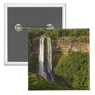 Chamarel som Vattenfall-är högst på Mauritius, öve Standard Kanpp Fyrkantig 5.1 Cm