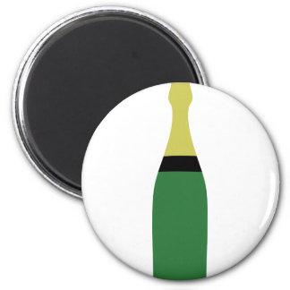 champagneflaska magnet